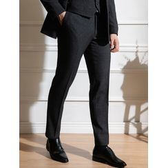 STYLEMAN - Straight-Cut Dress Pants