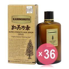 KAMINOMOTO - Super Strength Hair Serum Gold 150ml (36 pcs) (ABW Version)