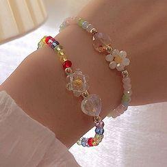 JAMIEL - Flower Acrylic Bead Bracelet