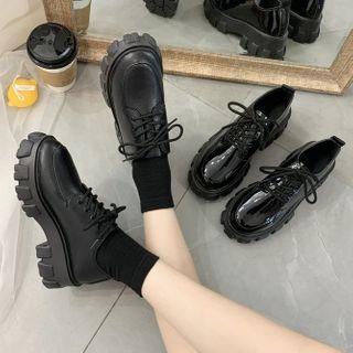 Bolitin - 厚底繫帶鞋