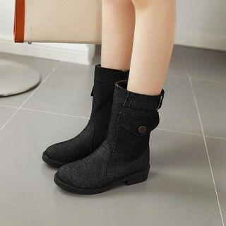 Shoes Galore - Denim Short Boots