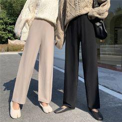 Fancy Show - 针织直身裤