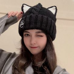 FROME(フローム) - Cat Ear Knit Beanie