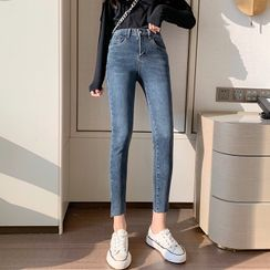 Korenina - 水洗貼身牛仔褲