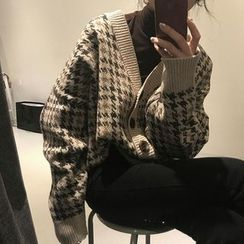 Moon City - Patterned Cardigan