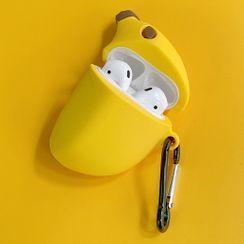 Zone Zero - 矽胶香蕉AirPods耳机保护套