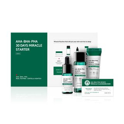 SOME BY MI - AHA, BHA, PHA 30 Days Miracle Starter Limited Set: Cleansing Bar + Toner + Serum + Cream