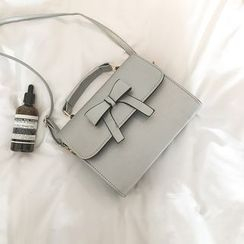 Behere - Bow-Accent Crossbody Bag