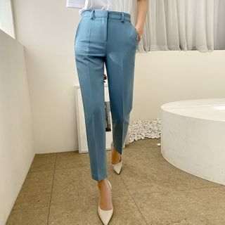 DABAGIRL - Colored Tapered Dress Pants