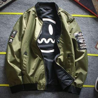 FORSETI - 雙面拉鏈飛行員夾克