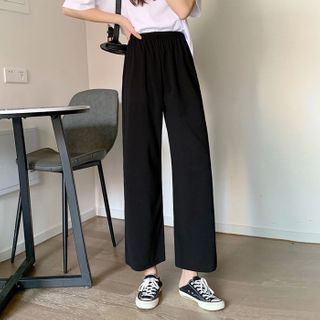 Sisyphi(シシピ) - Wide-Leg Pants