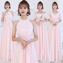 Jinfuna - Mesh Evening Gown (Various Designs)