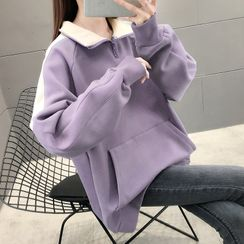 Linchi - Collared Half-Zip Pullover