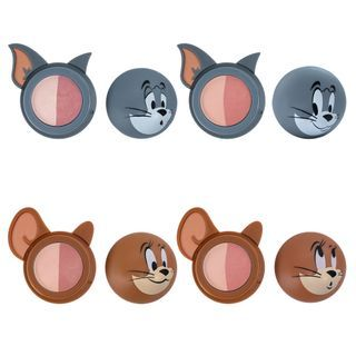 Etude House - Two Tone Cheek Dome Lucky Together Collection - 4 Colors