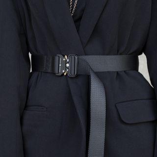SIMPLE BLACK   - Nylon Tactical Belt