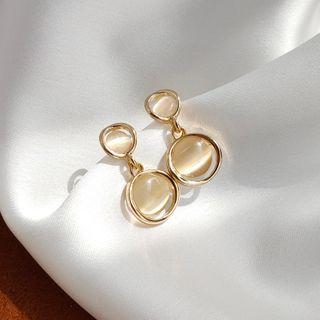 Pachamama - Cats Eye Stone Earrings