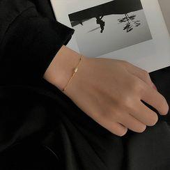 Honne - 925纯银水钻手链