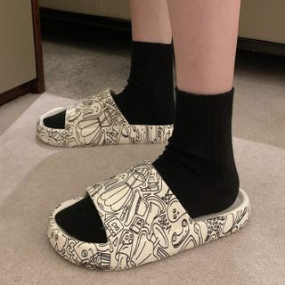 Honkizz(ホンキッズ) - Print Home Slippers