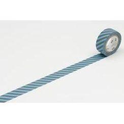 mt - mt Masking Tape : mt fab Stripe Sky Blue x Grey