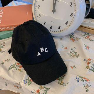 CHERRYKOKO - Letter Cotton Baseball Cap