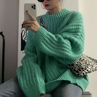 Fabricino - Twist Knit Sweater