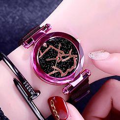 Biccup - 鑽石切割網紗帶式手錶