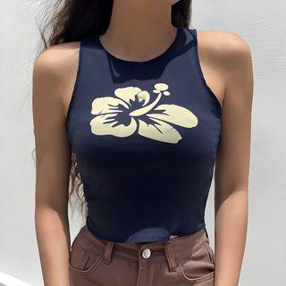 Sosana - Floral Print Tank Top