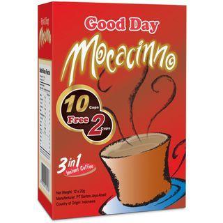 Three O'Clock - Good Day Indonesian 3in1 Instant Coffee Mochaccino 20g x12