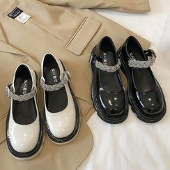 QQ Trend(キューキュートレンド) - Platform Mary Jane Shoes