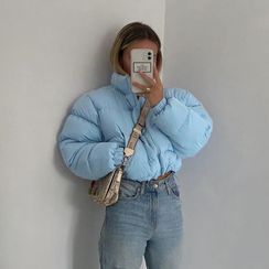 Sugarcoat - 夾層拉鏈夾克