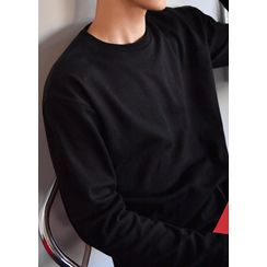 GERIO - Round-Neck Cotton T-Shirt in 17 colors