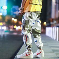 Wescosso  - 迷彩运动工装裤