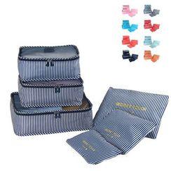 Lezi Bags - Set of 6: Travel Garment Organizer