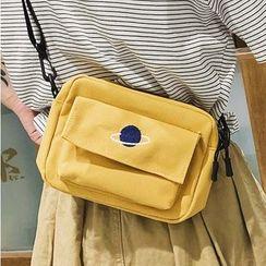 OUCHA - Planet Print Crossbody Bag