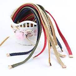 Leatha - Woven Cord Belt