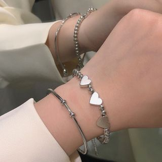 Studio Nana - Set of 2: Alloy Bracelet (assorted designs)