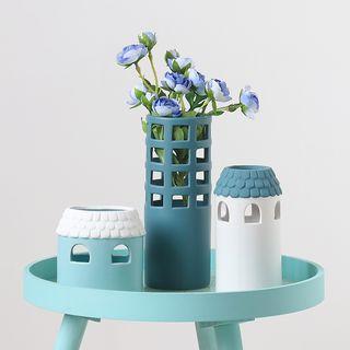 Foresty - Ceramic Houses Vase (various designs)