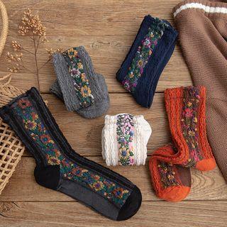 Sockaday - Floral Socks
