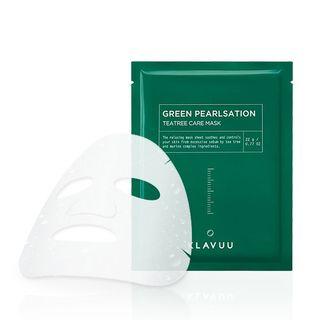 KLAVUU - Green Pearlsation Tea Tree Care Mask Sheet 1pc