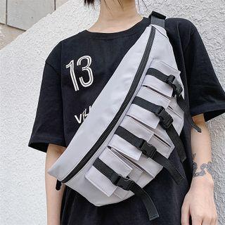 SUNMAN - 飾扣腰包