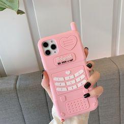Hephone - Retro Cellphone Phone Case - iPhone 12 Pro Max / 12 Pro / 12 / 12 mini / 11 Pro Max / 11 Pro / 11 / SE / XS Max / XS / XR / X / SE 2 / 8 / 8 Plus / 7 / 7 Plus