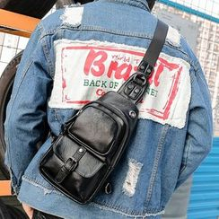 TESU - Faux-Leather Sling Bag