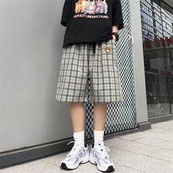 Banash - Plaid Shorts