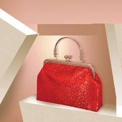 Shiari - 中式婚礼夹子边手提包
