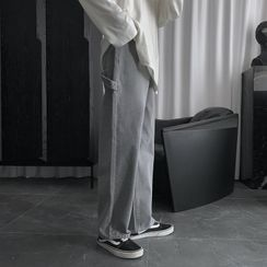 Mr. Wordy - Wide Leg Jeans