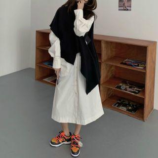 Moon City - Midi Shirtdress / Sweater