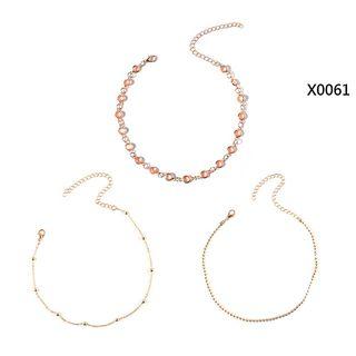 BAST - Set of 3: Beaded Necklace