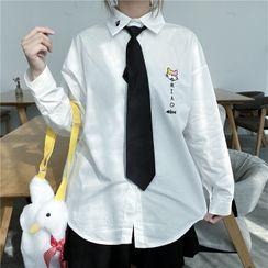 Moricode - Set: Long-Sleeve Shirt + Tie