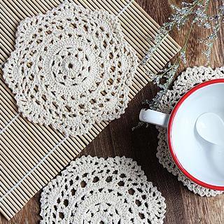 Kawa Simaya - Crochet Coaster