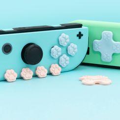 ZYUN - 矽膠貓爪Nintendo Switch 搖杆套